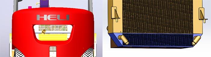 Heli H3 series khoang làm mát rộng