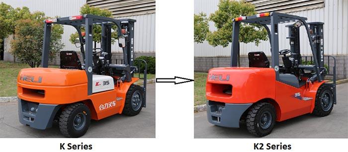Xe nâng chạy dầu K2 series