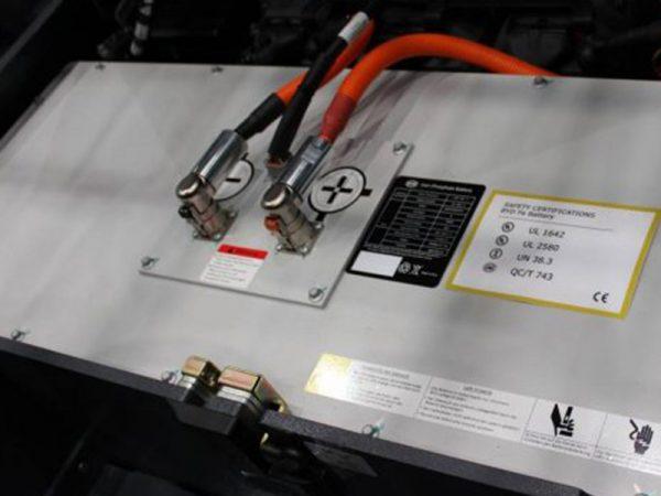 Ắc quy Lithium xe nâng điện Heli
