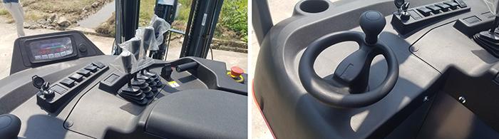 Cabin xe nâng điện Reach truck