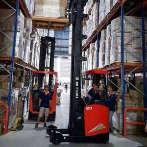 Heli reach truck 2 tấn