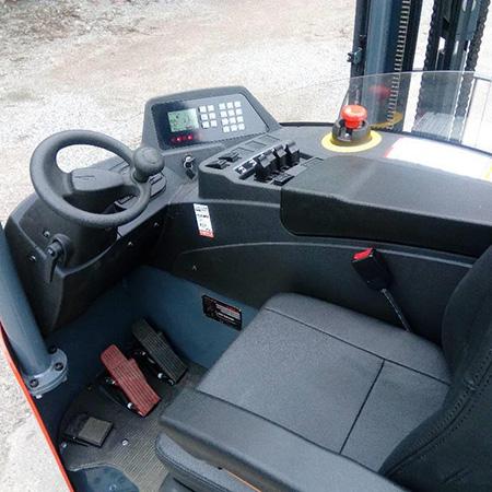 Khoang lái xe nâng Reach truck Heli