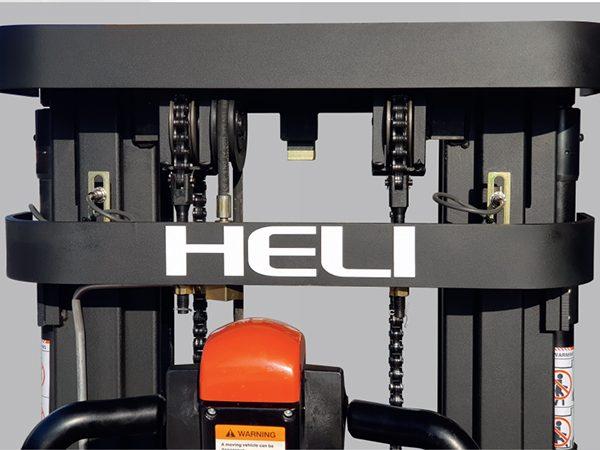 Khung xe nâng điện đứng lái Heli