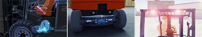Motor xe nâng điện Heli