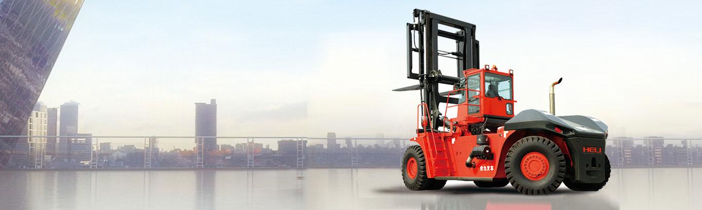 Xe nâng chạy dầu 12-46 tấn