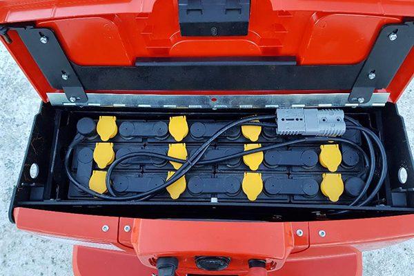 Xe nâng điện Heli CBD18-180