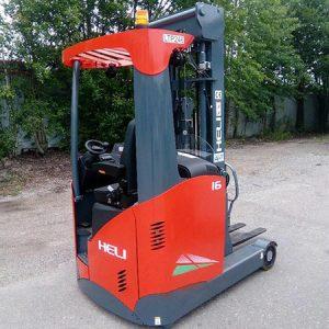 Xe nâng điện Heli reach truck
