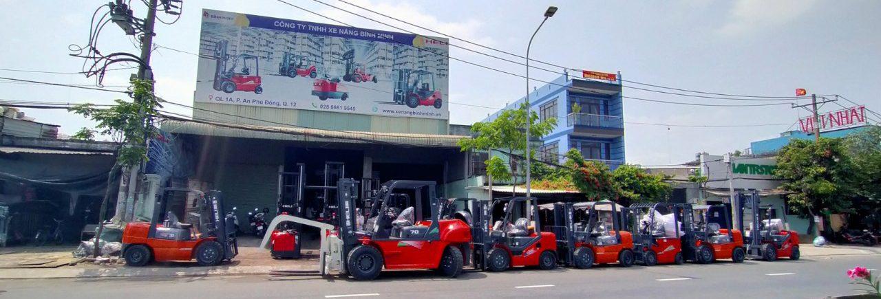 xe nâng Bình Minh miền Nam