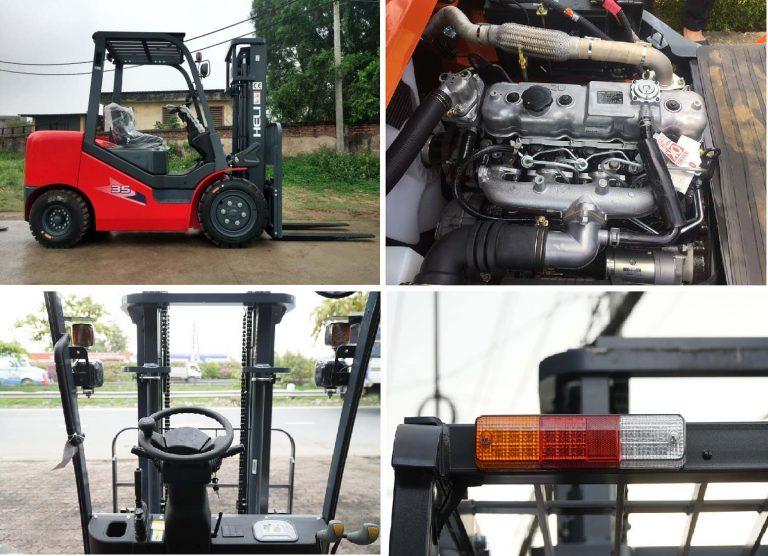 Xe nâng máy ISUZU 4JG2