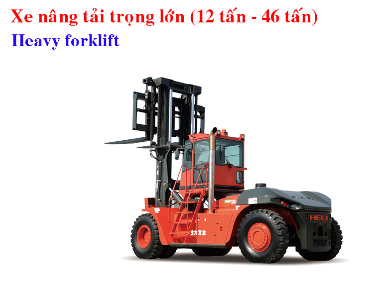 Heli Heavy Forklift