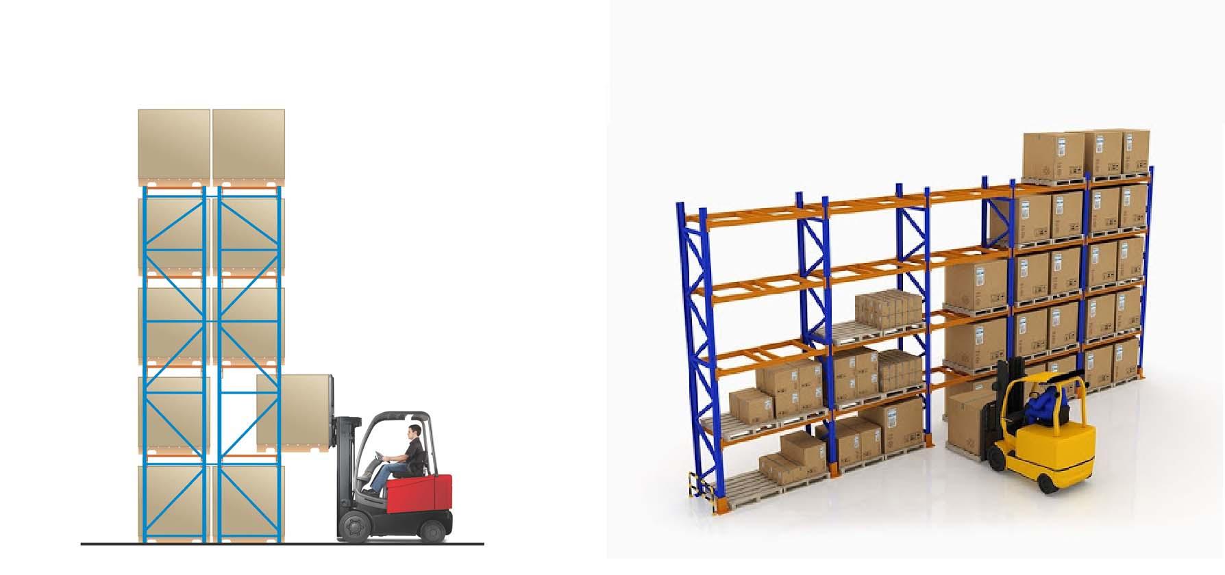 Forklift For Selective Racking