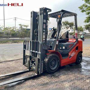 Xe nâng dầu Heli 2.5 tấn CPCD25-WS1H