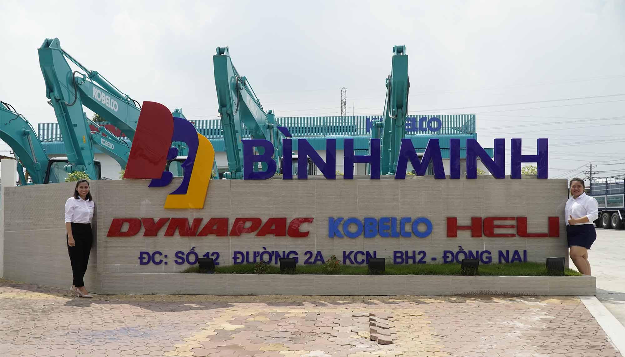 Kho xe nâng Heli tại Biên Hòa - Đồng Nai