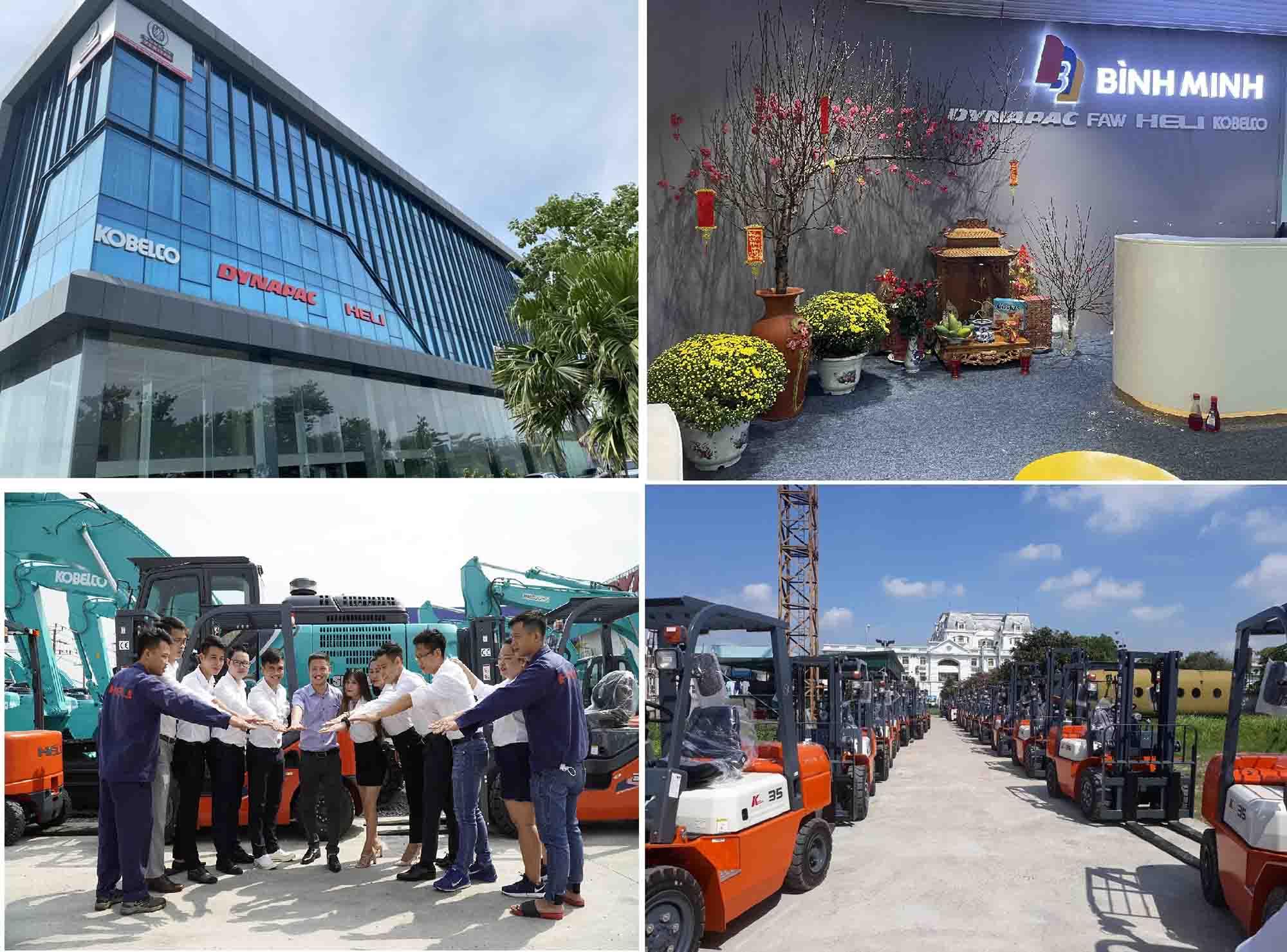 Đại lý phân phối xe nâng Heli tại Việt Nam