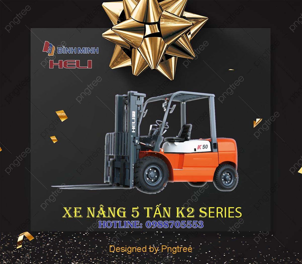 Xe nâng hàng 5 tấn tại Việt Nam