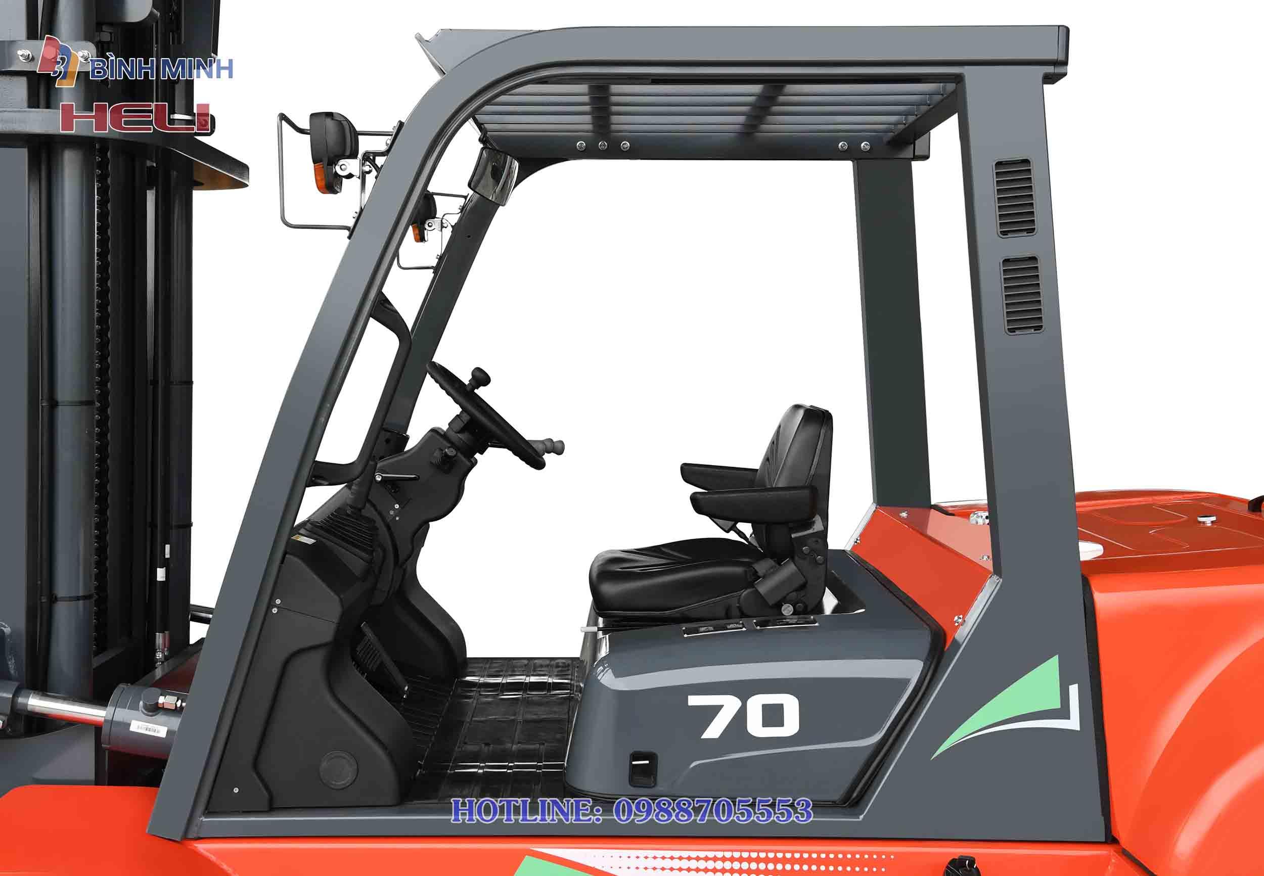 Xe nâng hàng Heli CPCD70-W2G