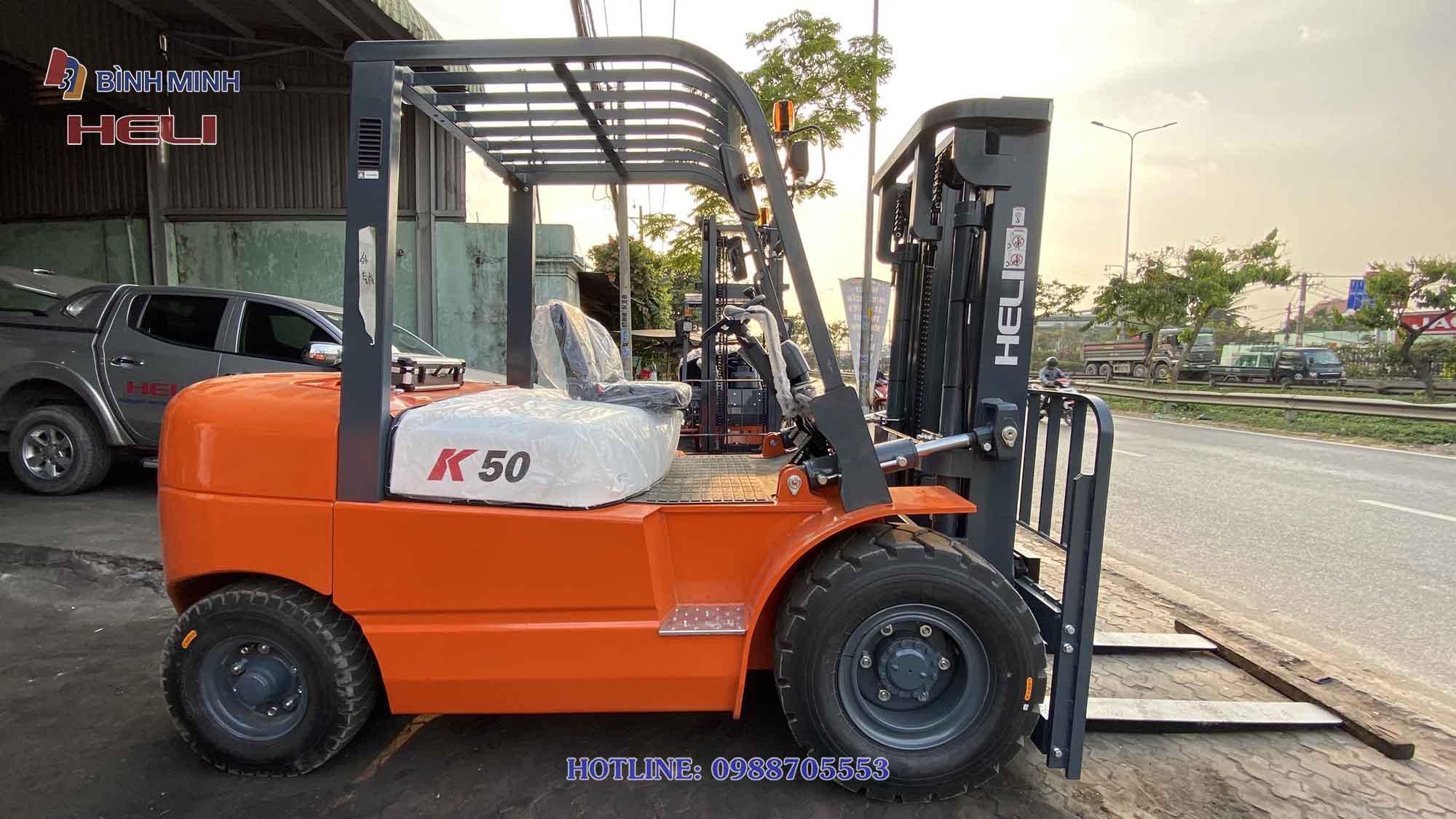 Xe nâng Heli 5 tấn K2 series