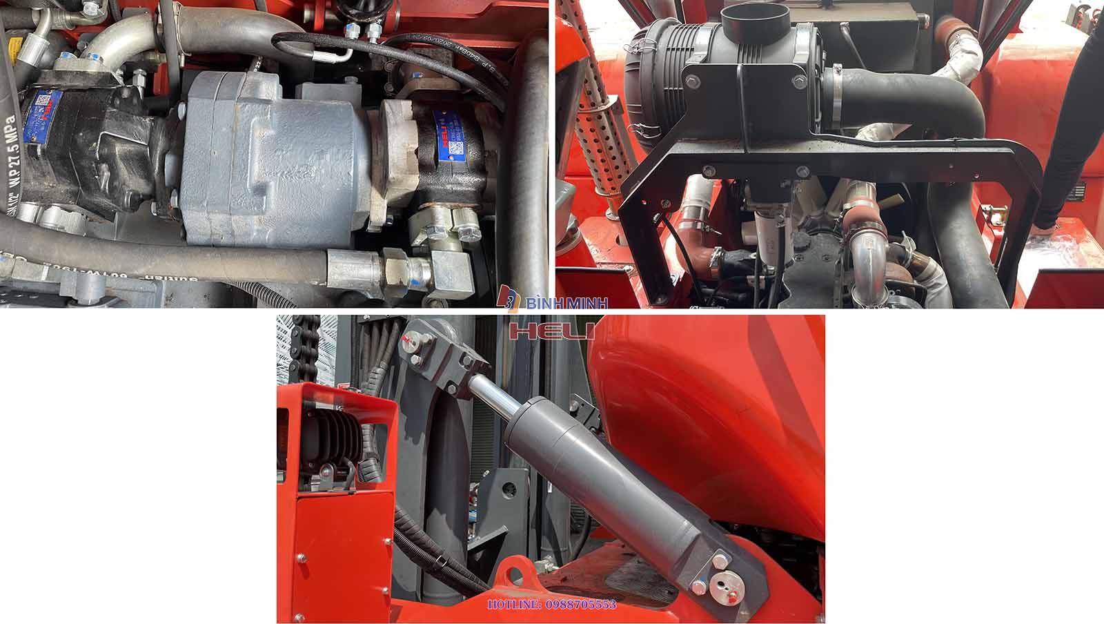 Bơm Thủy Lực Turbo Tăng áp Của Heli