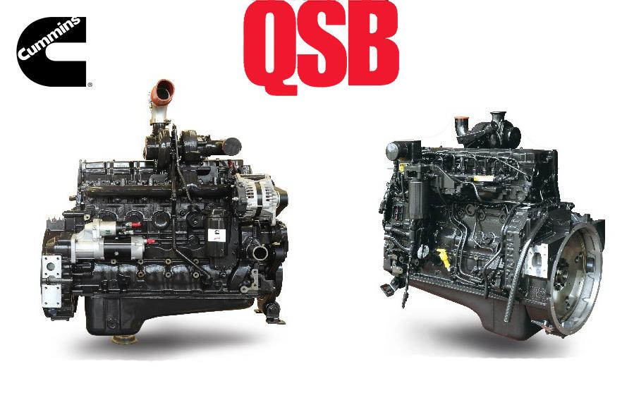 Động Cơ Cummins Qsb6.7