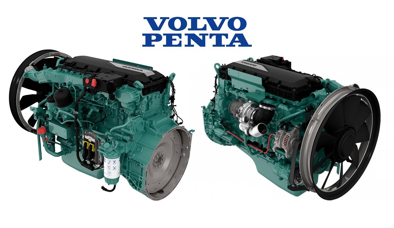 Động Cơ Dầu Diesel Volvo Tad851ve