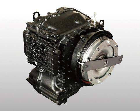 Hộp số ZF 3WWG211 chuyên dùng trên xe nâng hạng nặng