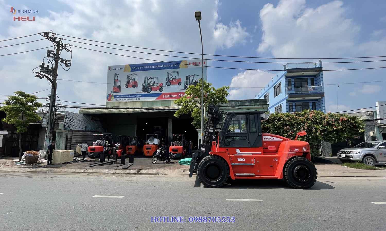 Xe Nâng 18 Tấn Heli Tại Việt Nam