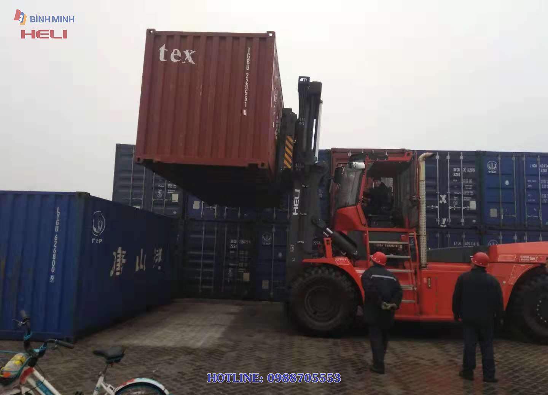 Xe Nâng Container đặc 32 Tấn