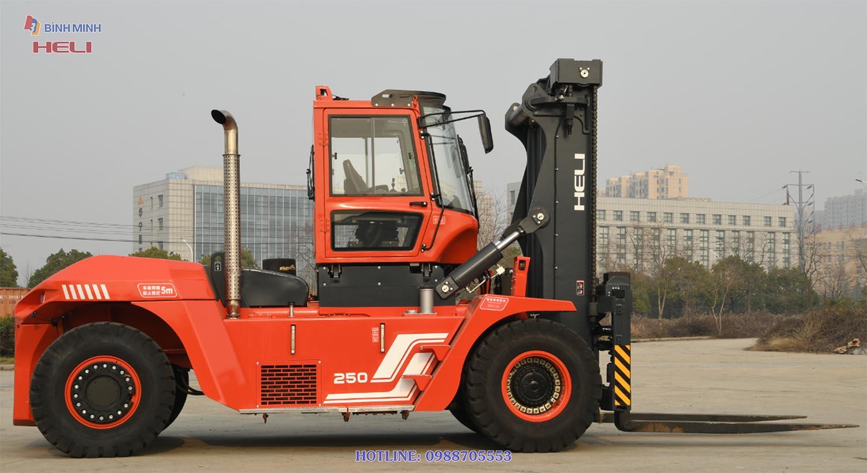 Xe Nâng Heli 25 Tấn G2 Series CPCD250-VZ1-12IIIG2