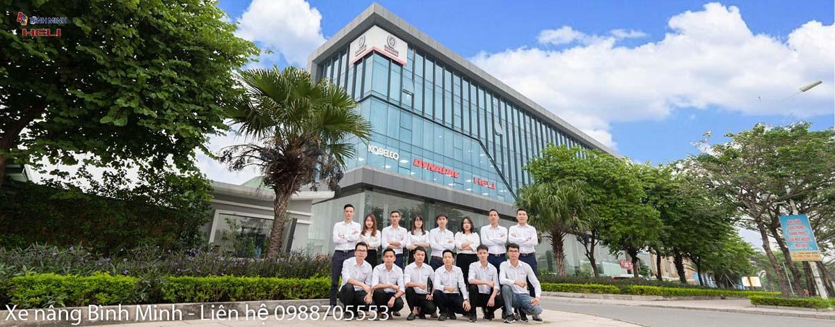 Văn Phòng Xe Nâng Bình Minh Hà Nội