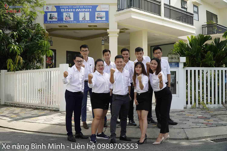 Văn Phòng Xe Nâng Bình Minh Hồ Chí Minh