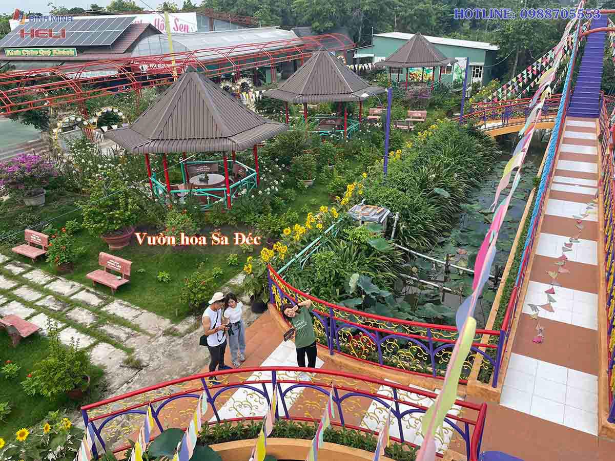 Vườn Hoa Sa Đéc Đồng Tháp