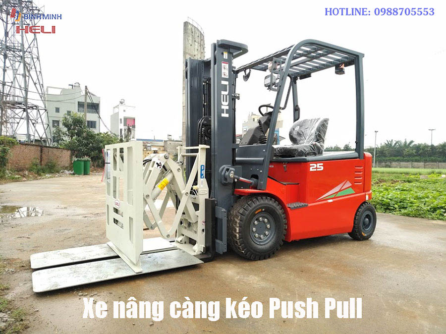 Xe Nâng Push Pull Tại Đồng Tháp